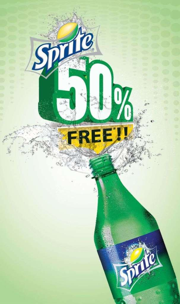 750ml Sprite for the Price of 500ml