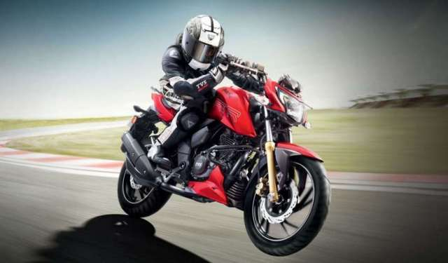 TVS Apache 200 4V launched in Nepal