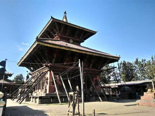 Changu Narayan temple  is considered as the oldest temple in the history of Nepal.