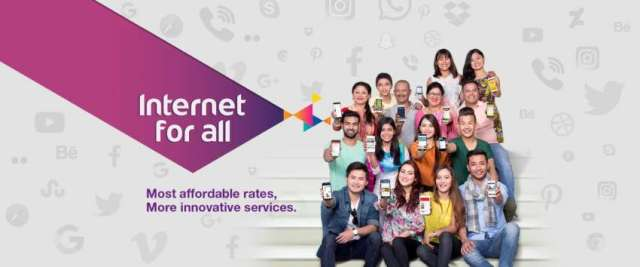 """Internet for all"" from Ncell"