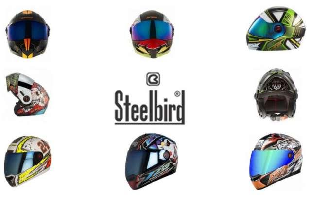 Steelbird Helmets in Nepali Market