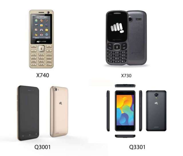 Micromax launches new mobiles