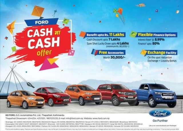 Ford Announces Festive Offer