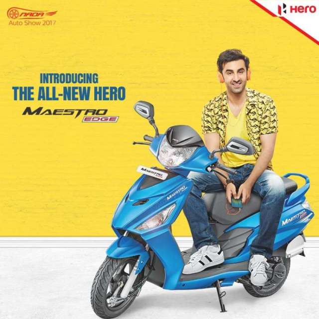 Hero Introduces New Range of Scooters