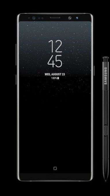 Samsung Note 8 Launched