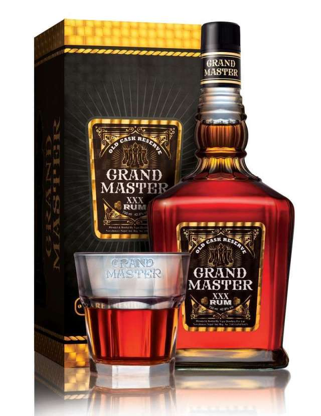 Vijaya Distillery Launches Grand Master Rum