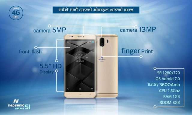Nepali brand smartphone Nepsonic now available in market