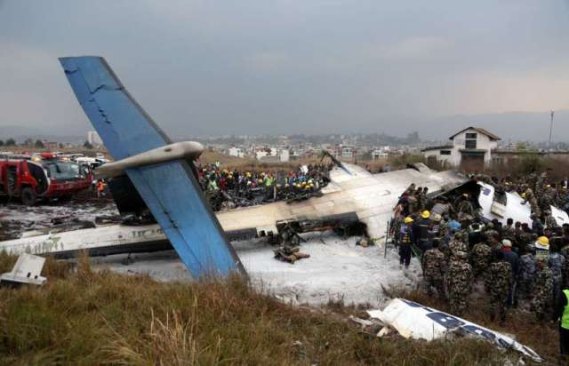 US-Bangla plane crash at Tribhuvan International Airport (TIA)