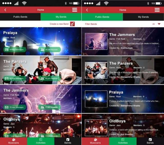 BandZilla Musician Networking