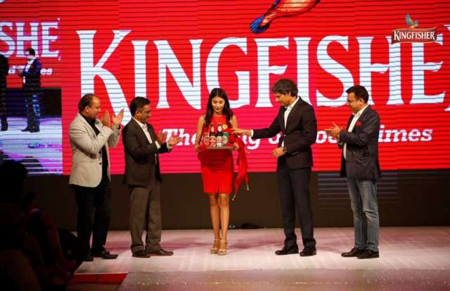 Kingfisher Beer Launched