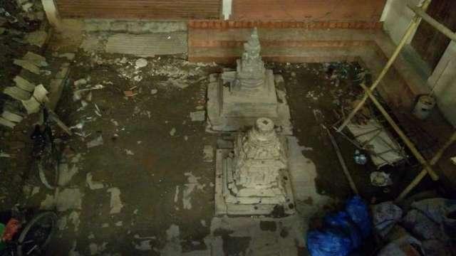 Neglected heritage at Kathmandu.
