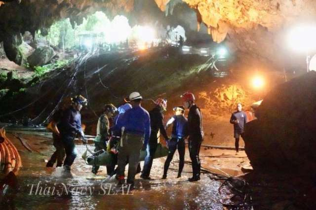 Thai cave rescue: a timeline