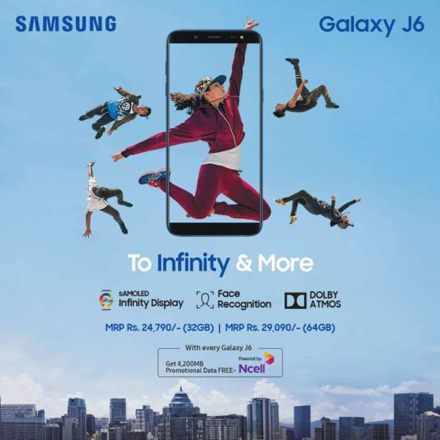 Samsung Galaxy J6 with Infinity Display launched