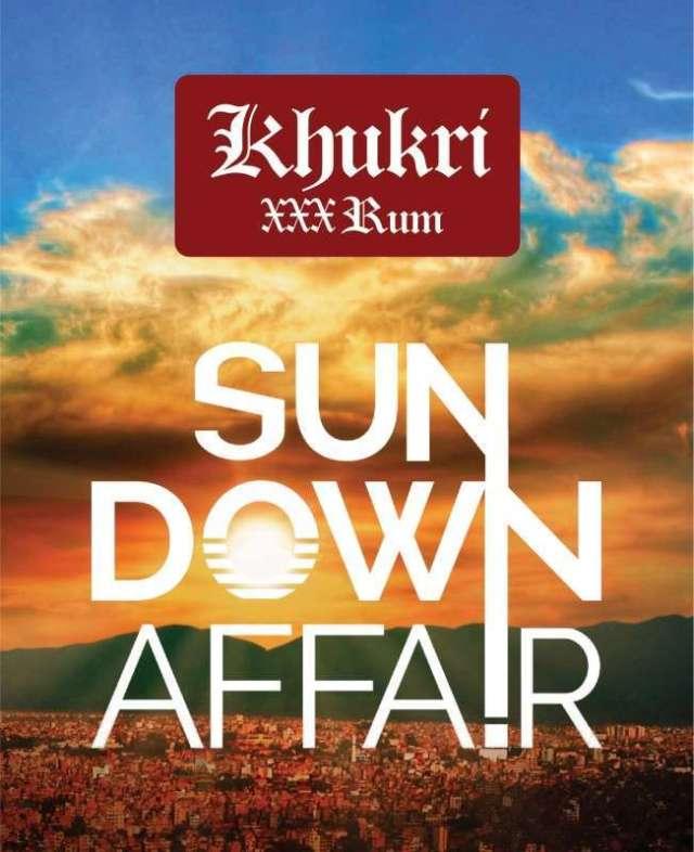 Khukri XXX Rum Hosting Sundown Events in Kathmandu on Saturdays