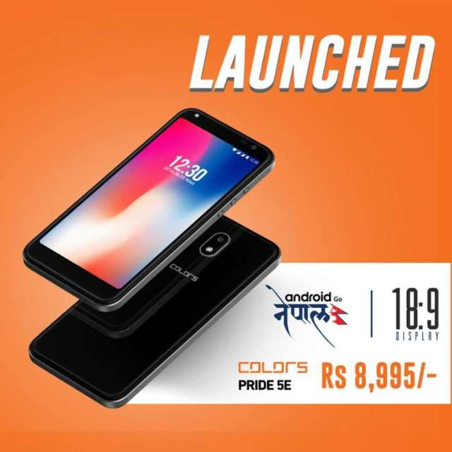 Colors Mobile Launches Pride 5C and Pride 5E