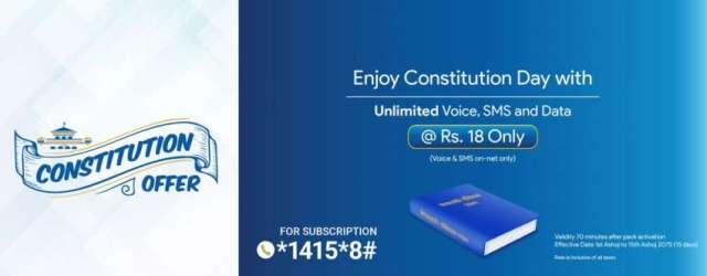 Constitution Day Offer from Nepal Telecom