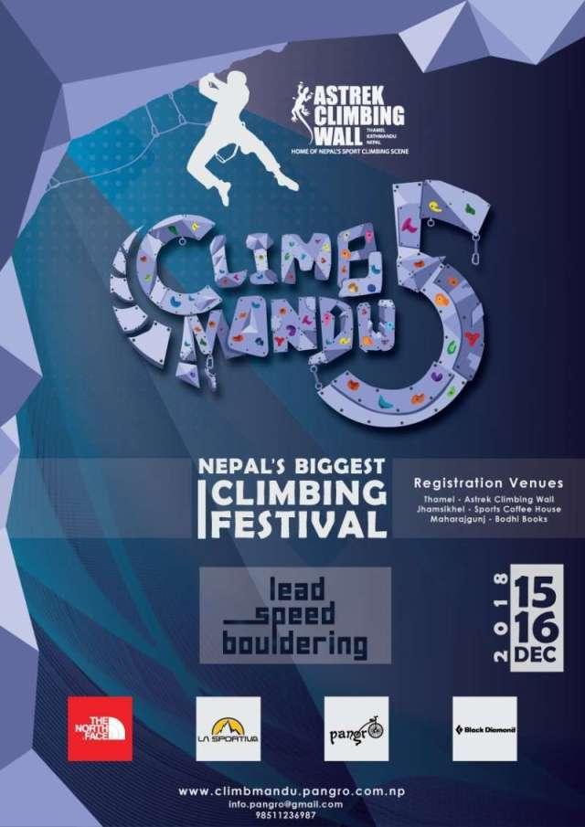 Climbmandu Begins on December 15