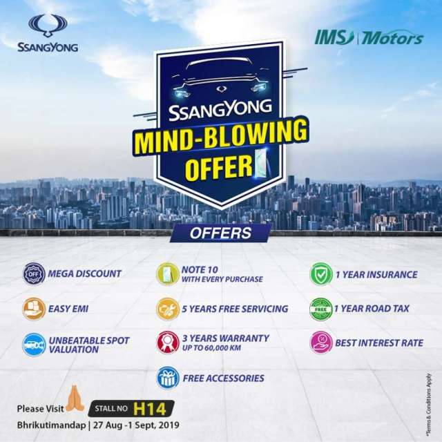 SsangYong announces 'Mind Blowing Offer'