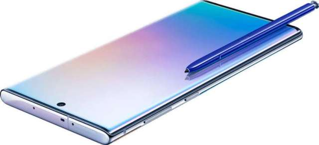 Samsung introduces Galaxy Note 10+