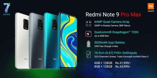 Redmi Note 9 Pro Max Launched in Nepal