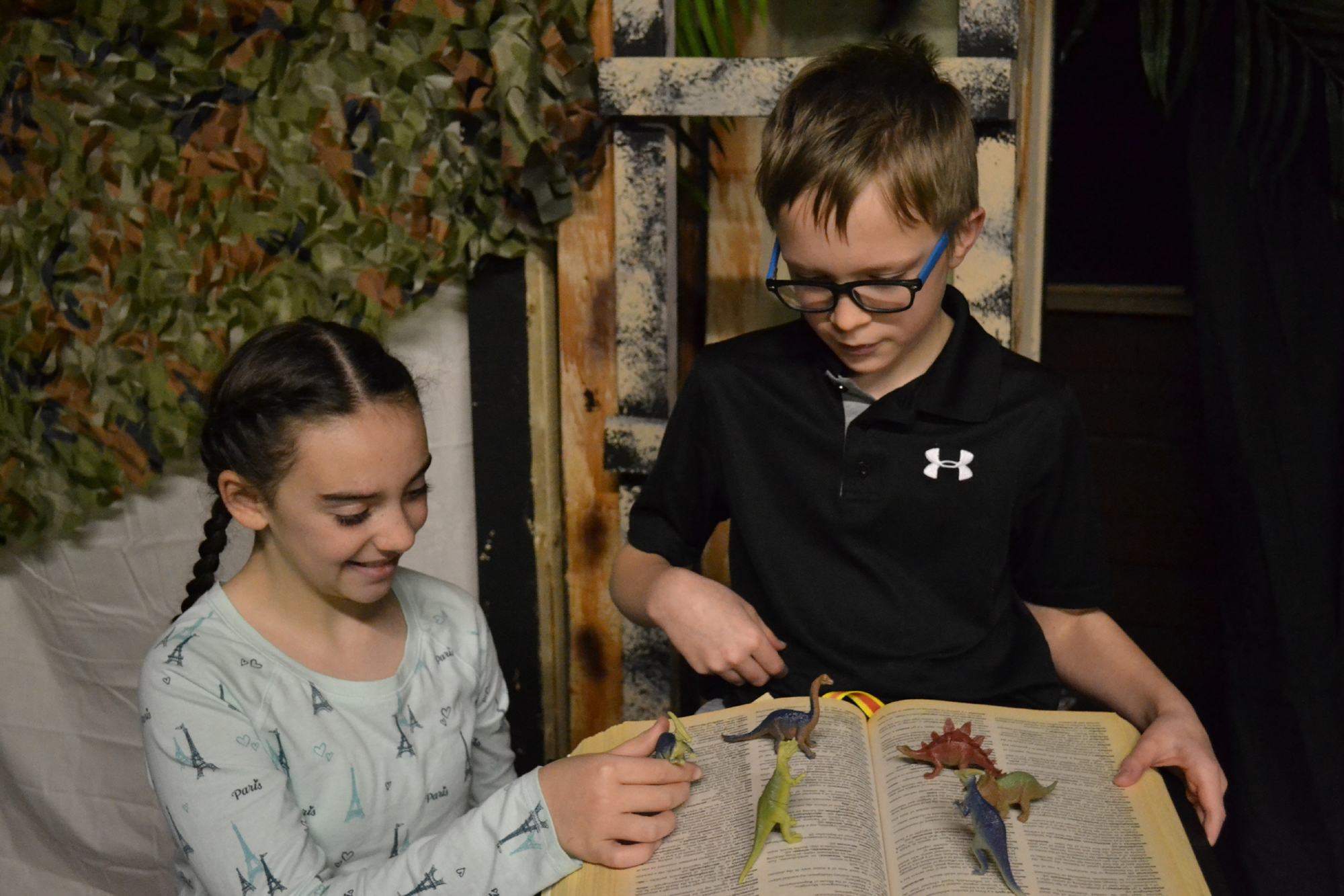 Act Out Theatre Group Finds Dinosaurs Before Dark In