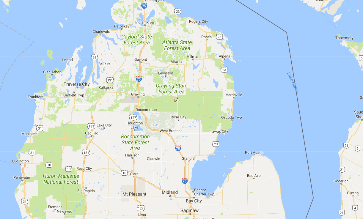 A Road Map To Smart Decisionmaking Michigans US Protect NEPA - Us 23 map