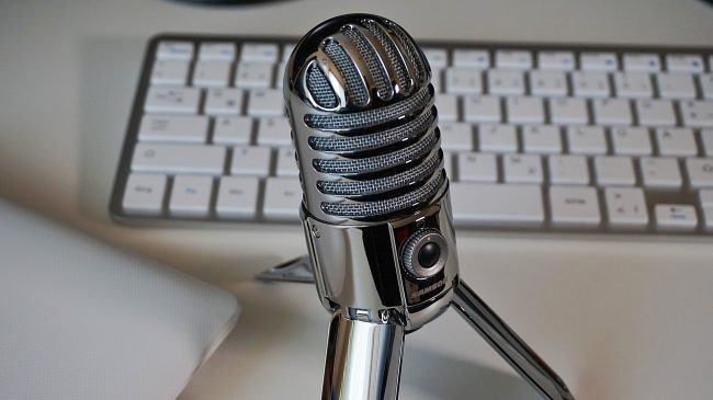 microphone for online listening