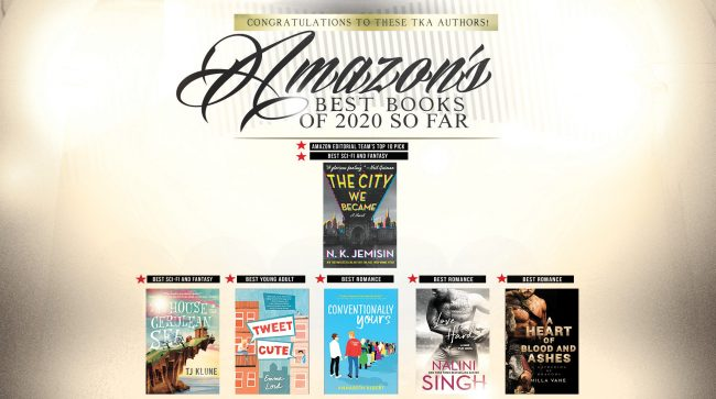 Knight Agency Books on Amazon's Best of 2020 So Far List