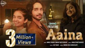 Aaina Lyrics – Monali Thakur & Ranajoy Bhattacharjee