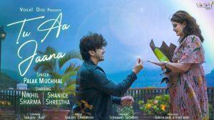 Tu Aa Jaana Lyrics – Palak Muchhal