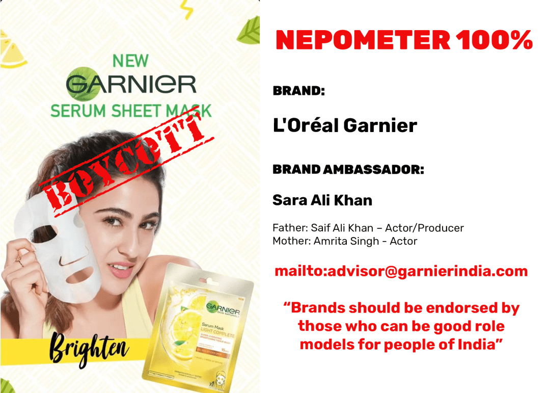 Left Side Garnier Photo/Image courtesy of Garnier India