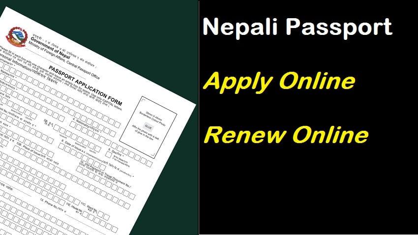 Nepali MRP Pport Application Form-Nepali MRP ... on