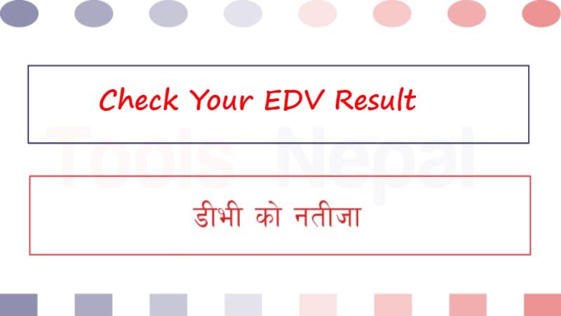 Check EDV Result, EDV Lottery, EDV Result, DV Lottery Result
