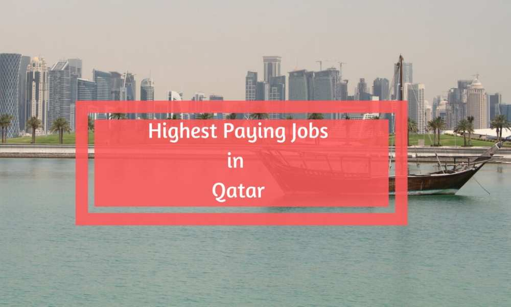 Highest Paying Jobs in Qatar