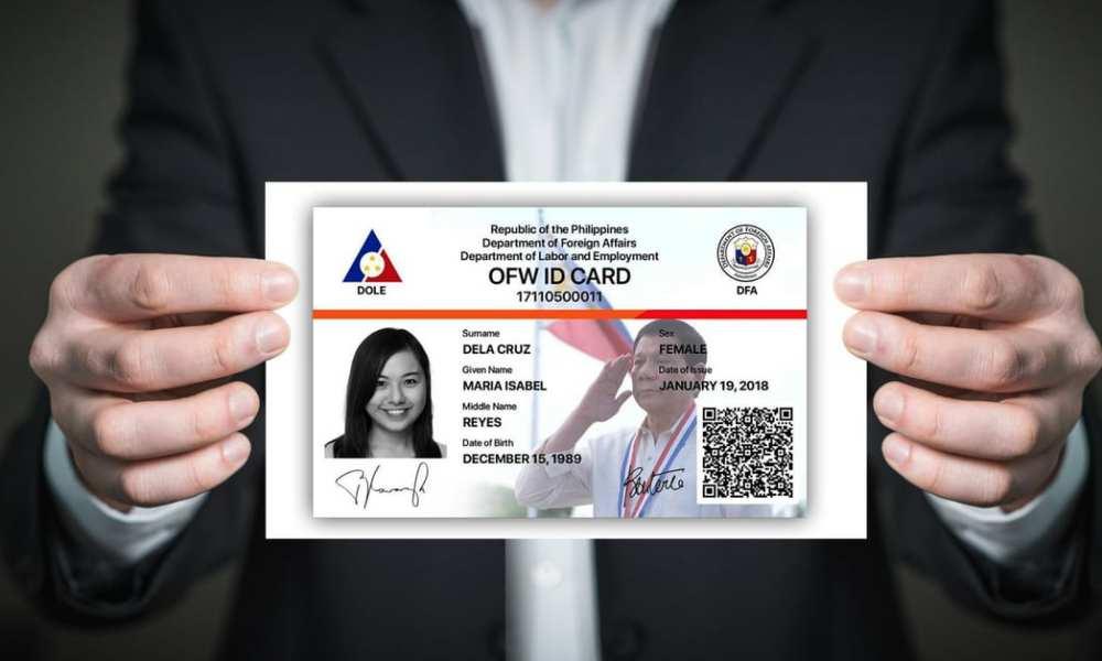 get iDOLE OFW ID card online
