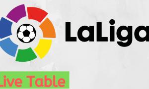 la liga live table