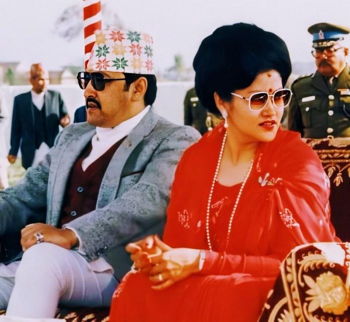 King Birendra and Queen Aaishwarya