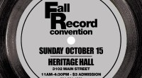 Sunday October 15th, 2017 is our semi-annual Record Convention.   This time it will be held at Heritage Hall (3102 Main Street) Admission is $3 11am-4:30pm (No Early Bird!) If you would like […]