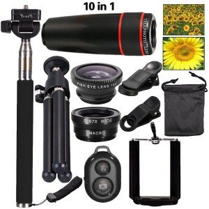 10 in 1 Phone Camera Lens Set