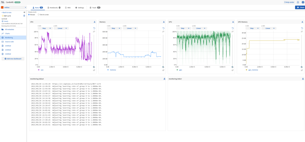 AILS Labs Neptune monitoring