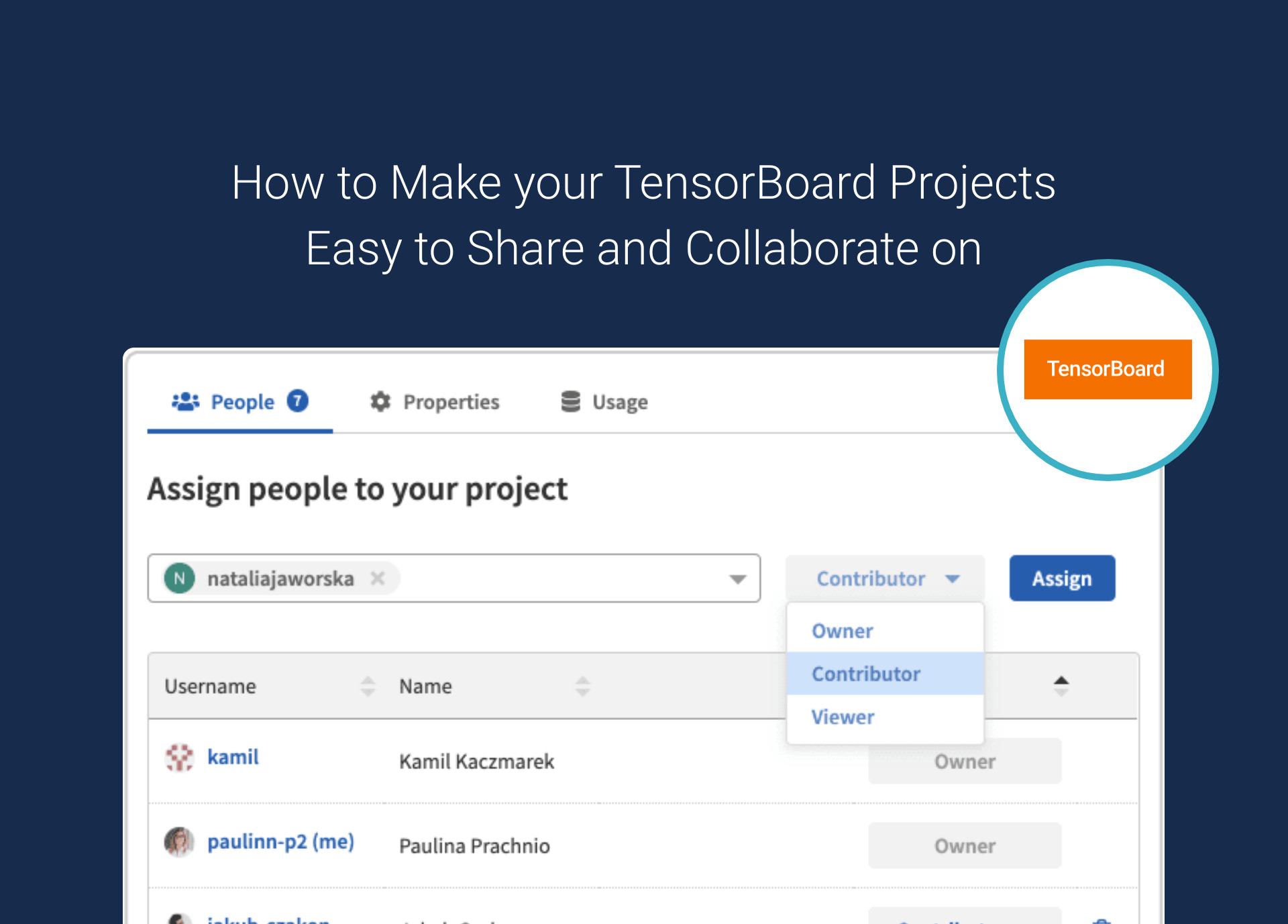 How to Make your TensorBoard Projects Easy to Share and Collaborate on
