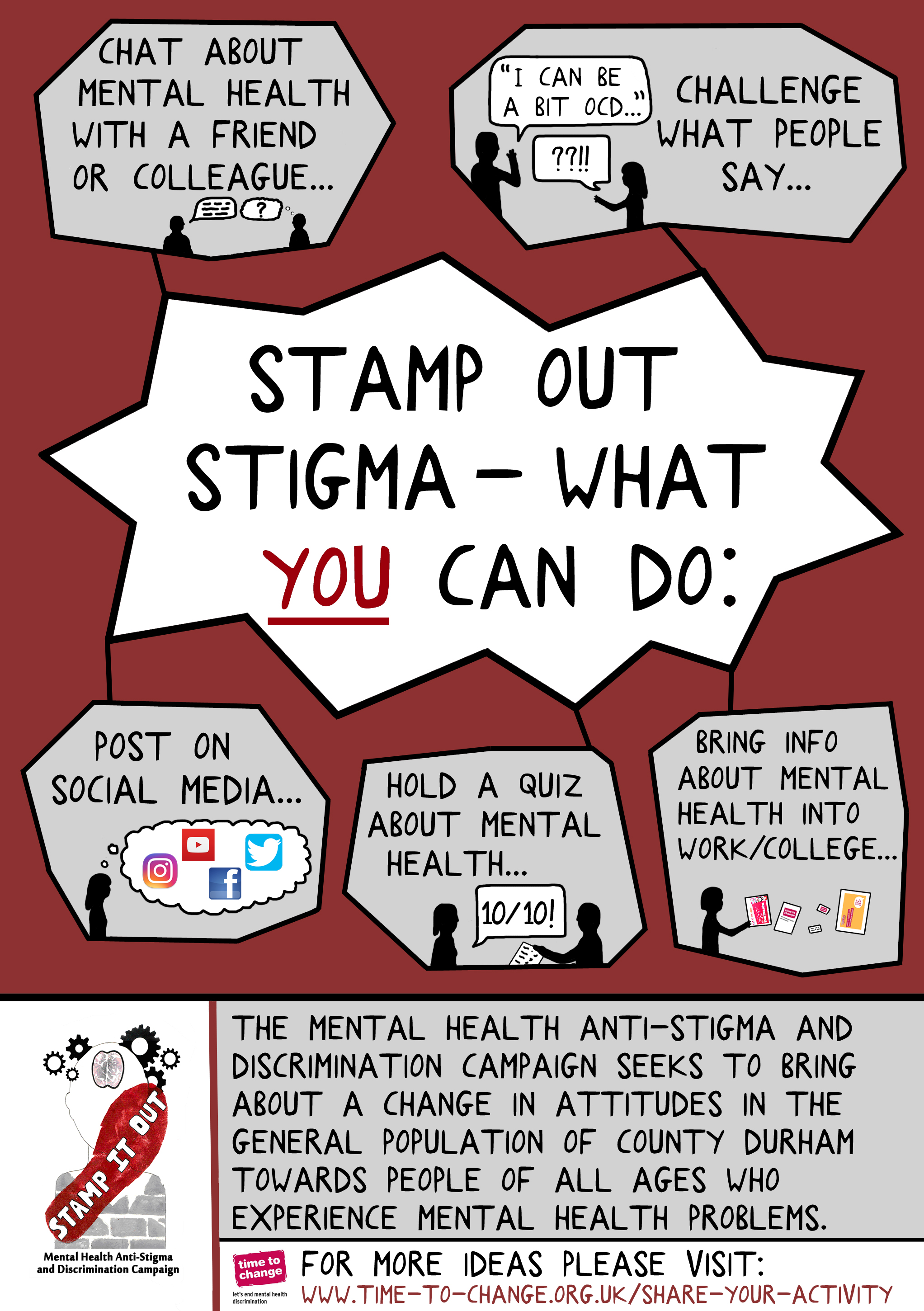 Challenging Mental Health Stigma In County Durham North