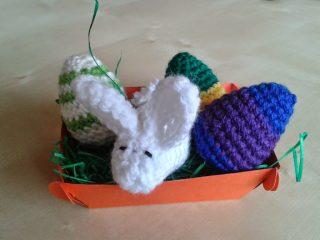 Körbchen zu Ostern