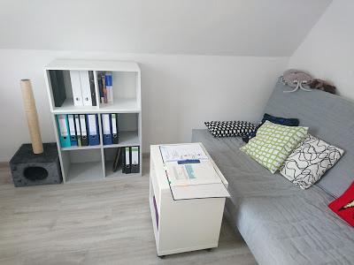 Büro, Studierzimmer, wohin mit den Unterlagen
