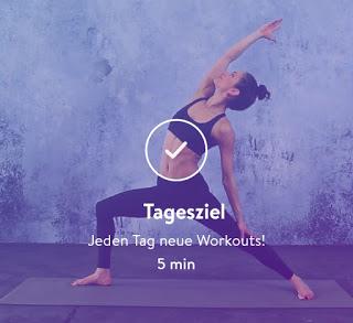 Yoga mit App