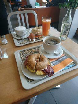 Aber nicht ohne Frühstück