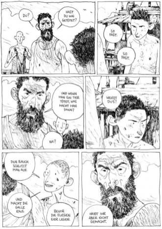 Die Welt der Söhne, Avant Verlag, Ausschnitt Seite 24