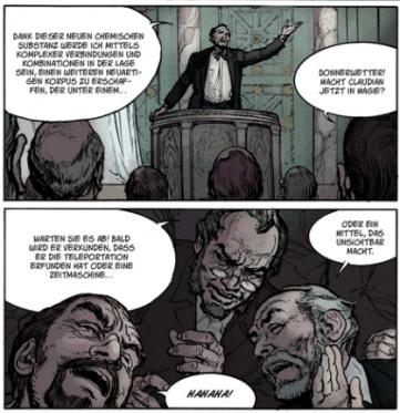 Fulgur, Splitter Verlag, Ausschnitt Seite 7