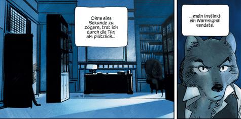 Jack Wolfgang, Schreiber & Leser, Ausschnitt Seite 8