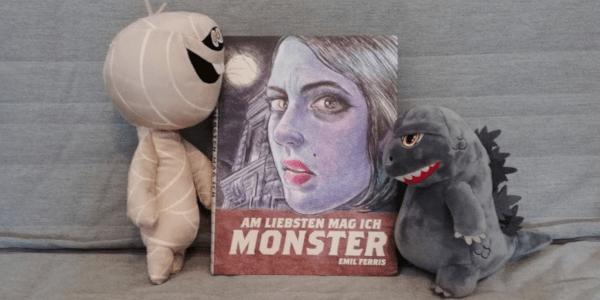 Am liebsten mag ich Monster von Emil Ferris +Rezension+
